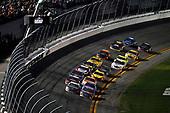 Monster Energy NASCAR Cup Series<br /> Daytona 500<br /> Daytona International Speedway, Daytona Beach, FL USA<br /> Sunday 18 February 2018<br /> Aric Almirola, Stewart-Haas Racing, NAPA Auto Parts Ford Fusion, Denny Hamlin, Joe Gibbs Racing, FedEx Express Toyota Camry<br /> World Copyright: Michael L. Levitt<br /> LAT Images
