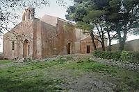 Erice: chiesa di Sant'Antonio Abate.<br /> Erice: Sant'Antonio Abate church