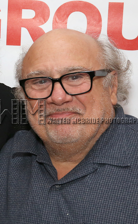 """Danny Devito attends The New Group presents the New York Premiere Opening Night of David Rabe's for """"Good for Otto"""" on March 8, 2018 at the Green Fig Urban Eatery,  in New York City."""