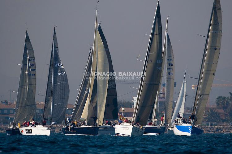 ESP8448 Porron VII - 61 Trofeo Magdalena - Cruceros - Real Club Náutico de Castellón - 1-2/3/2008 - Castellón, España