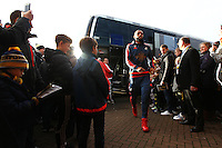 Kyle Bartley of Swansea   before  the Emirates FA Cup 3rd Round between Oxford United v Swansea     played at Kassam Stadium  on 10th January 2016 in Oxford