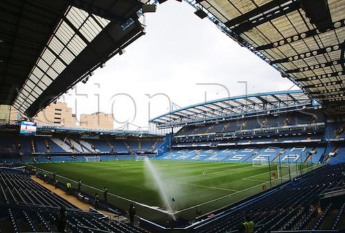 05.03.2016. Stamford Bridge, London, England. Barclays Premier League. Chelsea versus Stoke City. Stamford Bridge prepares for the match