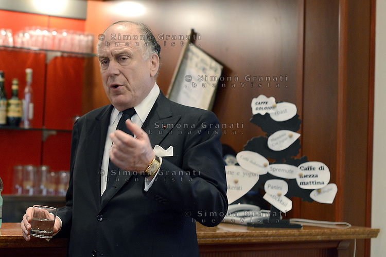 Roma, 18 Set 2014<br /> Stampa estera.<br /> Conferenza stampa di Ronald Lauder, presidente del World Jewish Congress<br /> Rome, 18 September 2014 <br /> Press Conference by Ronald Lauder, president of the World Jewish Congress