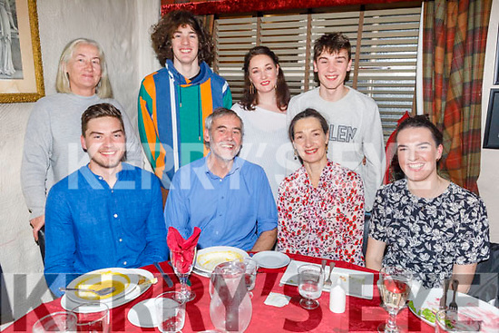 Denis Cahill from Tralee celebrating his birthday in Cassidys on Monday. <br /> Seated l to r: Liam, Denis, Sharon and Aoife Cahill. Standing l to r: Brenda, Eoin, Amy and Sean Cahill.