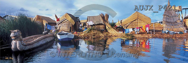 Dr. Xiong, LANDSCAPES, panoramic, photos, Satisfied forever, Lake Titicaca, Peru(AUJXP421,#L#)