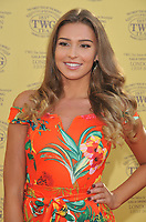 Zara McDermott at the TWG Tea London gala flagship store launch party, TWG Tea Salon &amp; Boutique, Leicester Square, London, England, UK, on Monday 02 July 2018.<br /> CAP/CAN<br /> &copy;CAN/Capital Pictures