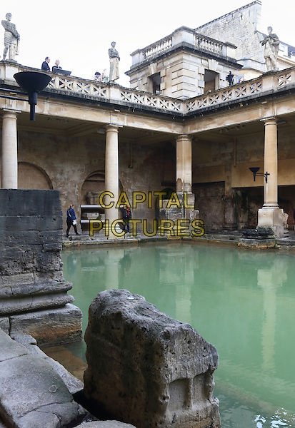 The Roman Baths, Bath, Somerset, England on December 30th 2015<br /> CAP/ROS<br /> &copy;Steve Ross/Capital Pictures