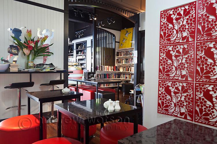 Ever After Cafe Bookstore.  Cairns, Queensland, Australia