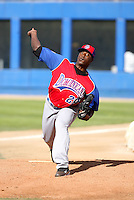 Nerio Rodriguez / Dominican Republic - 2009 Caribbean Series, Mexicali..Photo by:  Bill Mitchell/Four Seam Images