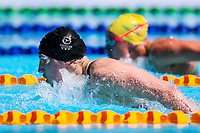 Picture by Alex Whitehead/SWpix.com - 09/04/2018 - Commonwealth Games - Swimming - Optus Aquatics Centre, Gold Coast, Australia - Charlotte Atkinson of the Isle of Man competes in the Women's 200m Butterfly heats.