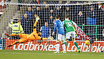 Lewis Stevenson's shot deflected past Wes Foderingham