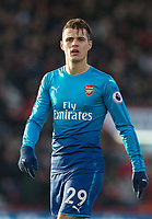 Granit Xhaka of Arsenal during the Premier League match between Bournemouth and Arsenal at the Goldsands Stadium, Bournemouth, England on 14 January 2018. Photo by Andy Rowland.