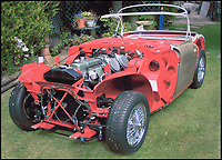 Concorde engineer's Concours standard Austin Healy..