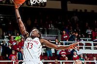 STANFORD, CA - NOVEMBER 17: Chiney Ogwumike throws up two as Stanford hosted Old Dominion University at Maples Pavilion. The Cardinal defeated Big Blue 97-48.