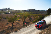 6th October 2017, Costa Daurada, Salou, Spain; FIA World Rally Championship, RallyRACC Catalunya, Spanish Rally; Jean Michel Raoux and his co-driver Laurent Magat of France compete in their Jean Michel Raoux Citroen DS3 WRC during the Terra Alta stage