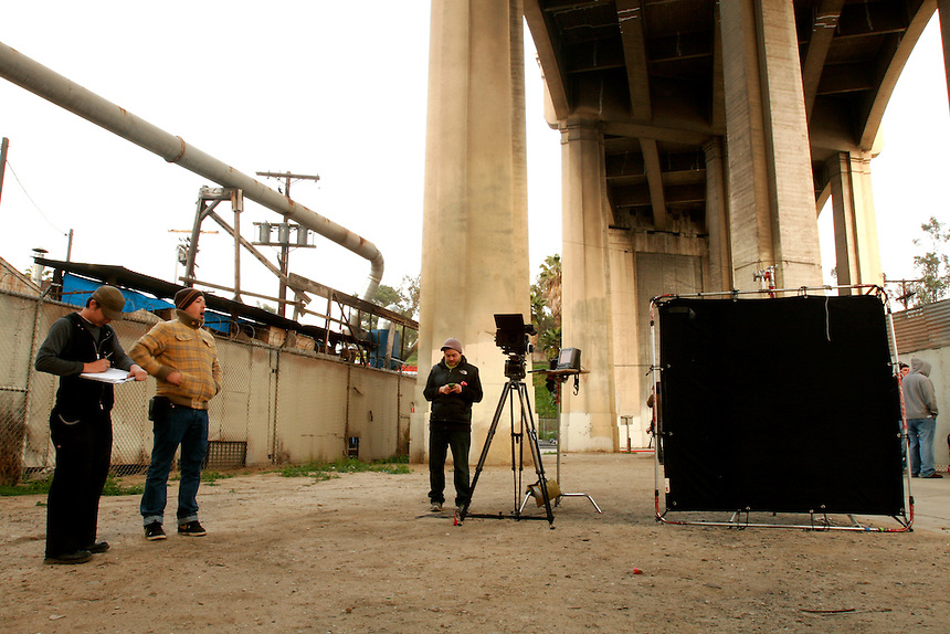"""Dawn"" shoot at S. Anderson St., Los Angeles, California on March 14, 2008.   (Photo by Bryce Yukio Adolphson,  © 2009)"