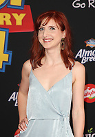 "HOLLYWOOD, CA - JUNE 11: Marieve Herington, at The Premiere Of Disney And Pixar's ""Toy Story 4"" at El Capitan theatre in Hollywood, California on June 11, 2019. <br /> CAP/MPIFS<br /> ©MPIFS/Capital Pictures"