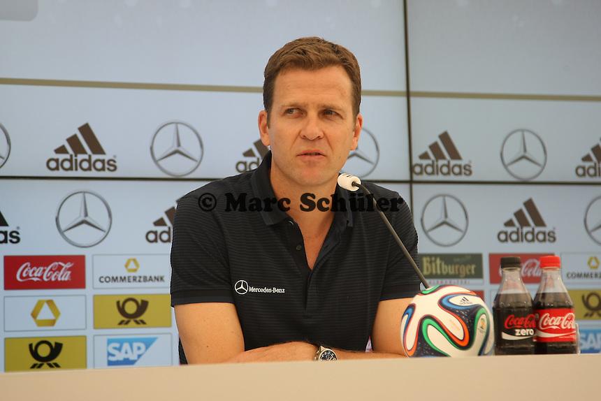 Nationalmannschaftsmanager Oliver Bierhoff - Trainingslager der Deutschen Nationalmannschaft zur WM-Vorbereitung in St. Martin