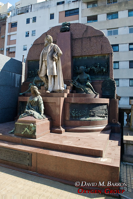 Adolfo Alsina Tomb, La Recoleta Cemetery