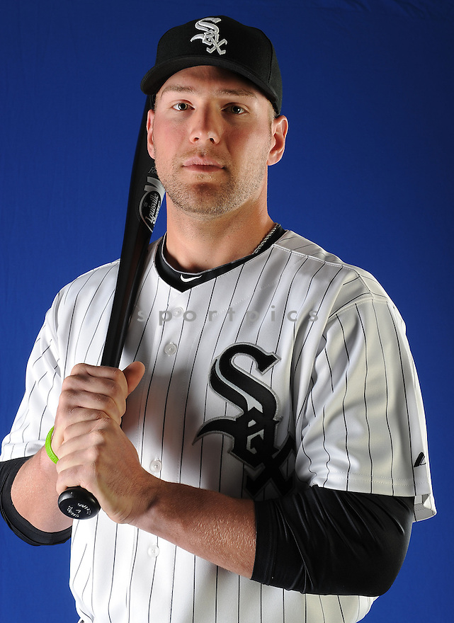 Chicago White Sox Kevan Smith (81) at media photo day on February 19, 2013 during spring training in Glendale, AZ.