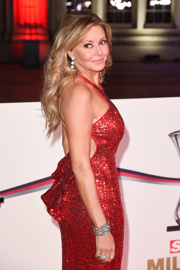 Carol Vorderman<br /> at the Millies 2016, Guildhall, London.<br /> <br /> <br /> ©Ash Knotek  D3212  14/12/2016