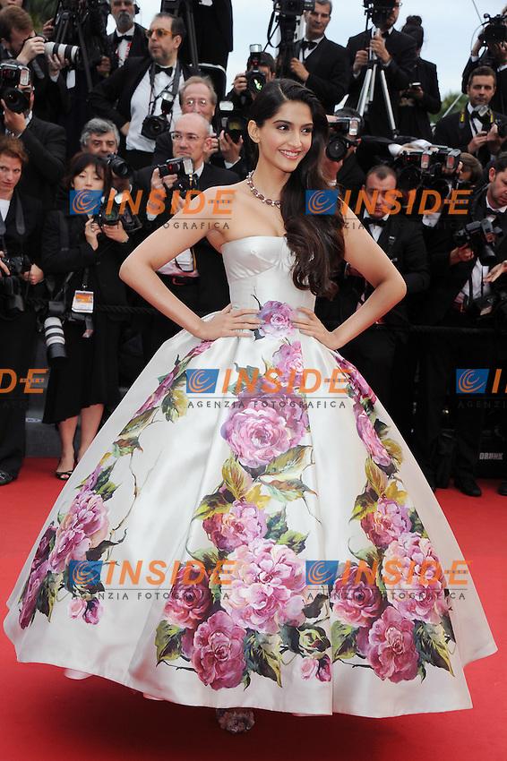 Sonam Kapoor..Cannes 16/5/2013 ..Festival del Cinema ..foto Panoramic / Insidefoto ..ITALY ONLY