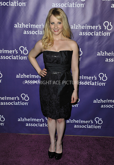 WWW.ACEPIXS.COM....March 20 2013, LA......Melissa Rauch arriving at the 21st Annual 'A Night At Sardi's' to benefit the Alzheimer's Association at The Beverly Hilton Hotel on March 20, 2013 in Beverly Hills, California.....By Line: Peter West/ACE Pictures......ACE Pictures, Inc...tel: 646 769 0430..Email: info@acepixs.com..www.acepixs.com