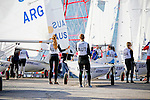 420 Women Fleet Race<br /> Day2, 2015 Youth Sailing World Championships,<br /> Langkawi, Malaysia