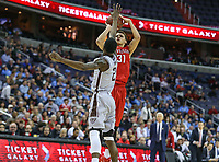 Washington, DC - March 10, 2018: Davidson Wildcats guard Kellan Grady (31) takes a shot during the Atlantic 10 semi final game between St. Bonaventure and Davidson at  Capital One Arena in Washington, DC.   (Photo by Elliott Brown/Media Images International)