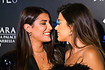 Alba Paul (l) and Aida Domenech 'Dulceida' kiss during Photocall previous to Starlite Gala 2019. August 11, 2019. (ALTERPHOTOS/Francis González)