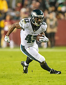 Philadelphia Eagles running back Darren Sproles (43) carries the ball in the second quarter against the Washington Redskins at FedEx Field in Landover, Maryland on December 30, 2018.  The Eagles won the game 24 - 0.<br /> Credit: Ron Sachs / CNP