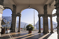 - Lugano, the lakeside....- Lugano, il lungolago