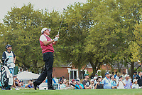 Phil Mickelson (USA) watches his tee shot on 7 during day 3 of the World Golf Championships, Dell Match Play, Austin Country Club, Austin, Texas. 3/23/2018.<br /> Picture: Golffile | Ken Murray<br /> <br /> <br /> All photo usage must carry mandatory copyright credit (&copy; Golffile | Ken Murray)