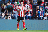 during the Barclays Premier League match between Southampton v Swansea City played at St Mary's Stadium, Southampton
