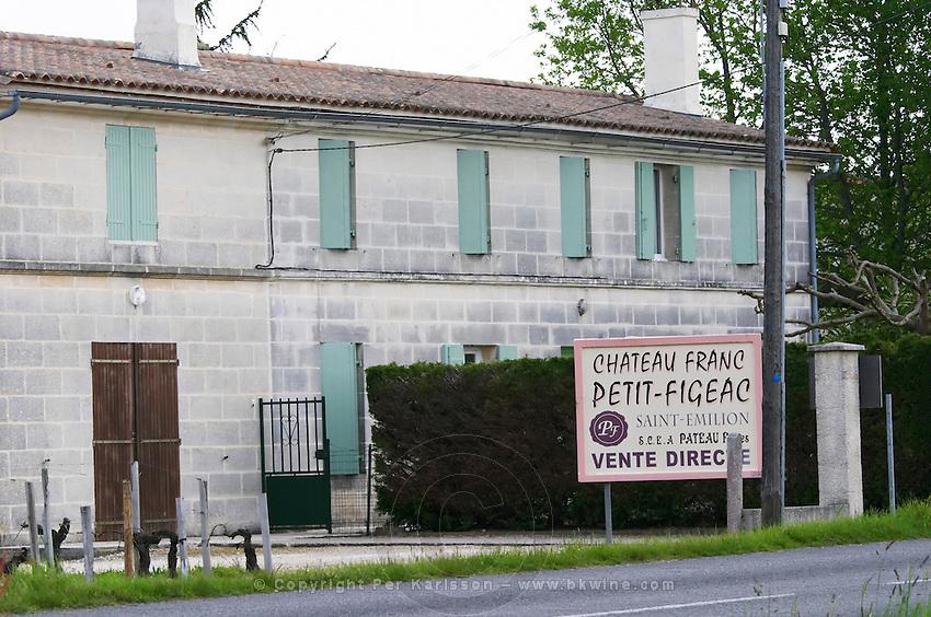 chateau franc petit figeac saint emilion bordeaux france