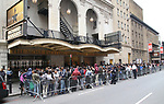 """Students before The Rockefeller Foundation and The Gilder Lehrman Institute of American History sponsored High School student #EduHam matinee performance of """"Hamilton"""" at the Richard Rodgers Theatre on May 24, 2017 in New York City."""