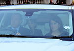 """19.12.2012, London: QUEEN'S CHRISTMAS LUNCH .Princess Eugenie arrives for the annual Christmas Luncheon given by the Queen at Buckingham Palace..Other royals attending included Kate, Prince William, Camilla, Duchess of Cornwall, Princess Beatrice, Princess Michael and Lady Helen Windsor..Mandatory credit photo:©Steve Butler/NEWSPIX INTERNATIONAL..(Failure to credit will incur a surcharge of 100% of reproduction fees)..**ALL FEES PAYABLE TO: """"NEWSPIX  INTERNATIONAL""""**..Newspix International, 31 Chinnery Hill, Bishop's Stortford, ENGLAND CM23 3PS.Tel:+441279 324672.Fax: +441279656877.Mobile:  07775681153.e-mail: info@newspixinternational.co.uk"""
