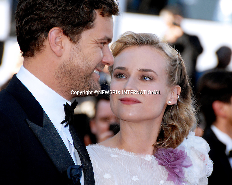 DIANE KRUGER AND JOSHUA JACKSON SPLIT<br /> after 10 years together but have decided to stay friends.<br /> The news was confirmed by reps for both Kruger and Jackson<br /> <br /> Cannes,20.05.2012: DIANE KRUGER AND JOSHUA JACKSON<br /> attend the 'Killing Them Softly' Premiere during 65th Annual Cannes International Film Festival at Palais des Festivals.<br /> Mandatory Credit Photos: &copy;Traverso/NEWSPIX INTERNATIONAL<br /> <br /> **ALL FEES PAYABLE TO: &quot;NEWSPIX INTERNATIONAL&quot;**<br /> <br /> PHOTO CREDIT MANDATORY!!: NEWSPIX INTERNATIONAL(Failure to credit will incur a surcharge of 100% of reproduction fees)<br /> <br /> IMMEDIATE CONFIRMATION OF USAGE REQUIRED:<br /> Newspix International, 31 Chinnery Hill, Bishop's Stortford, ENGLAND CM23 3PS<br /> Tel:+441279 324672  ; Fax: +441279656877<br /> Mobile:  0777568 1153<br /> e-mail: info@newspixinternational.co.uk