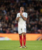 Kasey Palmer (Huddersfield Town (on loan from Chelsea) of England U21 after a missed reaction during the UEFA EURO U-21 First qualifying round International match between England 21 and Latvia U21 at the Goldsands Stadium, Bournemouth, England on 5 September 2017. Photo by Andy Rowland.
