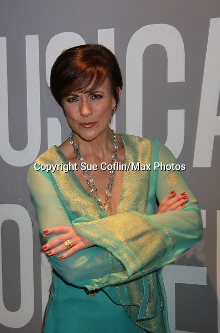 "As the World Turns' Colleen Zenk stars in ""Marrying George Clooney: Confessions from a Midlife Crisis"" on March 1, 2012 at Cap21 America's Musical Theatre Conservatory & Theatre Company, New York City, New York.  (Photo by Sue Coflin/Max Photos)"