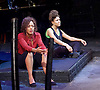 The Etienne Sisters<br /> Written by Ch&egrave; Walker<br /> Songs by Anoushka Lucas at the Theatre Royal Stratford East, London, Great Britain <br /> Press Photocall<br /> 15th September 2015 <br /> <br /> Allyson Ava-Brown as Bo <br /> <br /> Nina Toussaint-White as Tree  <br /> <br /> <br /> <br /> Photograph by Elliott Franks <br /> Image licensed to Elliott Franks Photography Services