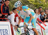 Andrey Kashechkin during the stage of La Vuelta 2012 between La Robla and Lagos de Covadonga.September 2,2012. (ALTERPHOTOS/Acero) /NortePhoto.com<br /> <br /> **CREDITO*OBLIGATORIO** <br /> *No*Venta*A*Terceros*<br /> *No*Sale*So*third*<br /> *** No*Se*Permite*Hacer*Archivo**<br /> *No*Sale*So*third*