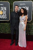 Ol Parker and Golden Globe nominee Thandie Newton attend the 76th Annual Golden Globe Awards at the Beverly Hilton in Beverly Hills, CA on Sunday, January 6, 2019.<br /> *Editorial Use Only*<br /> CAP/PLF/HFPA<br /> Image supplied by Capital Pictures