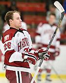 Luke Greiner (Harvard - 26) - The Yale University Bulldogs defeated the Harvard University Crimson 5-1 on Saturday, November 3, 2012, at Bright Hockey Center in Boston, Massachusetts.