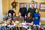 Enjoying their Christmas party in the Brogue Inn on Sunday night.<br /> Seated l-r, Illona and Bo Koscielniak and Alexandra Brudzinska.<br /> Back l-r, Zaneta Labuz-Czerwien, Olaf, Piotr and Oliwia Czerwien and Thomas Derlecki.