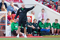 Nottingham Forest Head Coach Mark Warburton during the Sky Bet Championship match between Nottingham Forest and Millwall at the City Ground, Nottingham, England on 4 August 2017. Photo by James Williamson / PRiME Media Images.