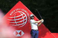 Adam Hadwin (CAN) on the 2nd tee during round 1 at the WGC HSBC Champions, Sheshan Golf Club, Shanghai, China. 31/10/2019.<br /> Picture Fran Caffrey / Golffile.ie<br /> <br /> All photo usage must carry mandatory copyright credit (© Golffile | Fran Caffrey)