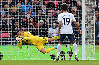 Michel Vorm of Tottenham makes a great save during Tottenham Hotspur vs AFC Wimbledon, Emirates FA Cup Football at Wembley Stadium on 7th January 2018