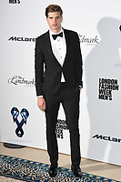 Toby Huntington Whiteley<br /> at the One For The Boys Fashion Ball 2017, Landmark Hotel, London. <br /> <br /> <br /> &copy;Ash Knotek  D3277  09/06/2017