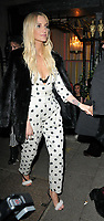 Ashlee Simpson at the H&amp;M x Moschino collection launch party, Annabel's, Berkeley Square, London, England, UK, on Tuesday 06 November 2018.<br /> CAP/CAN<br /> &copy;CAN/Capital Pictures